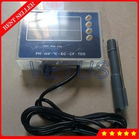 PHT 028 Dual level Display 6 in 1 Digital PH TDS Meter Temp EC CF MV Tester with water quality analyzer monitoring equipment