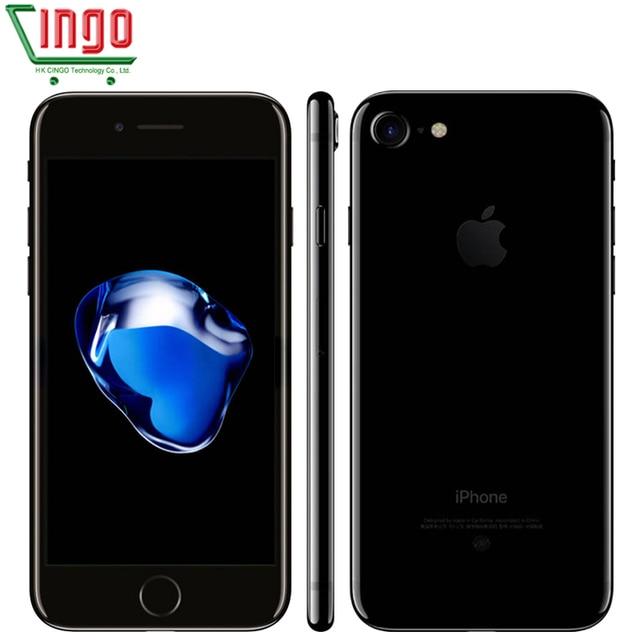 "unlocked Apple iPhone 7 2GB RAM 32/128/256GB ROM 4.7"" IOS Cell Phone 12.0MP Camera Quad Core 4K Video LTE 1960mAh"