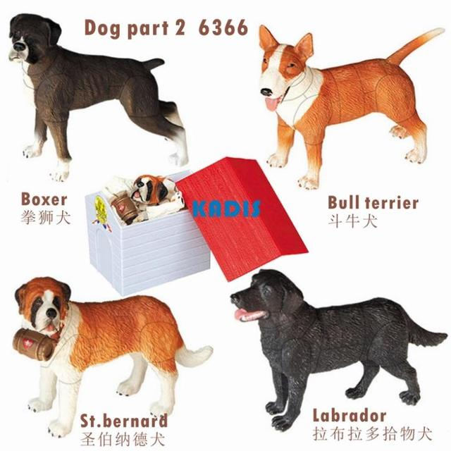 Fake Toy Dogs : Aliexpress buy dogs puzzles pcs d animal puzzle