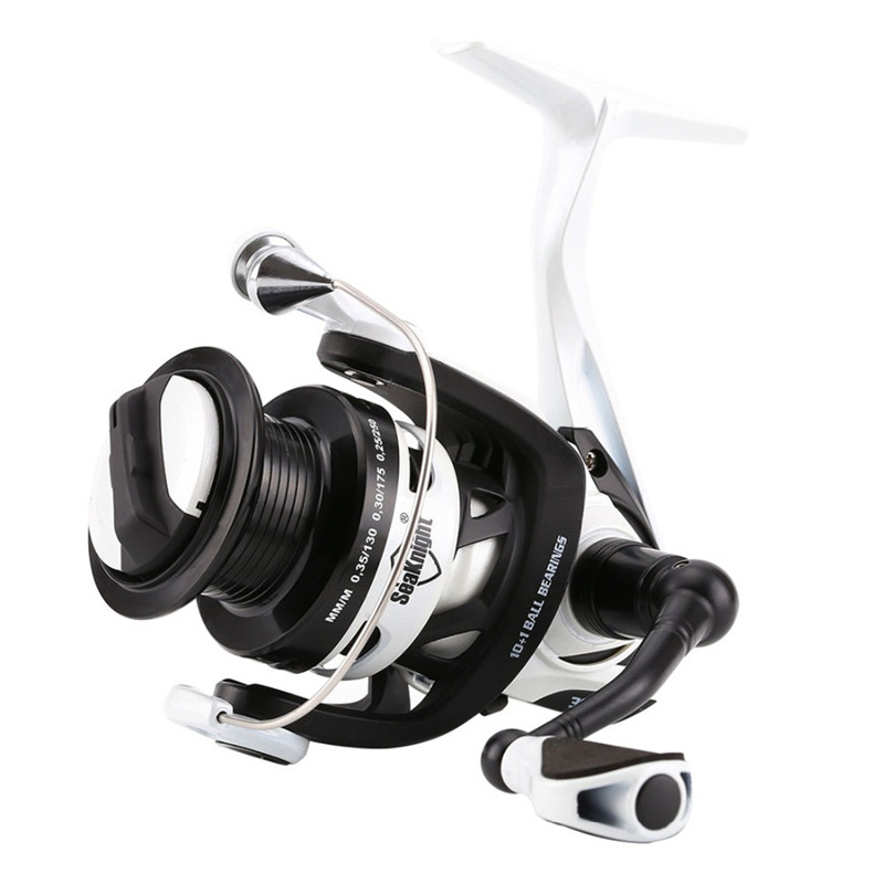 High quality low price metal Body Carbon Rotor Spinning Fishing Reel 2000 3000 11BB 6.2:1 260g 2 SpoolS Spinning Fishing Reel seaknight high speed wr2000 3000 6 2 11bb spinning fishing reel