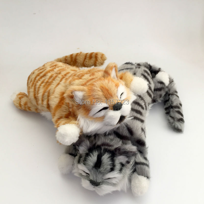 New Arrival Funny Laughing Cat Roll Electronic Pet Toys Simulation Animal Robot Cats Gift For Child 30cm