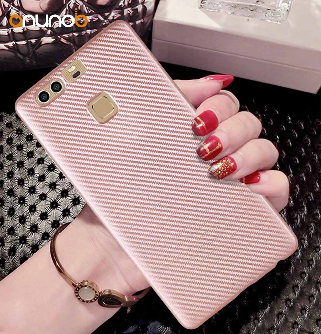 Phone Silicon Case For Huawei P20 Lite Case Fiber Cover For Huawei P20 Pro P8 P9 P10 Lite Mini Plus Y3 Y5 Y6 ii 2017 Cover