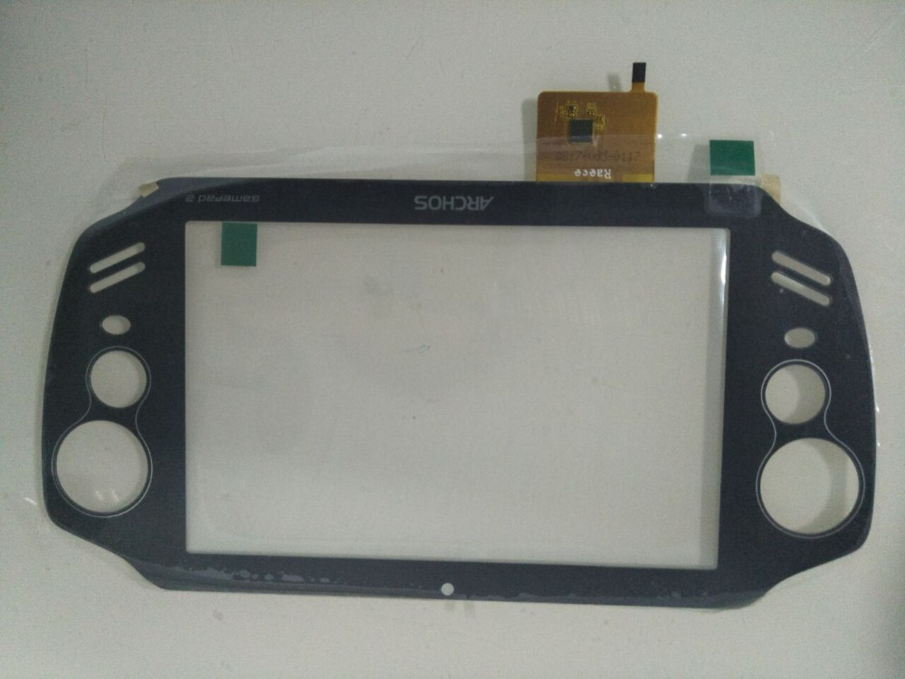 New For 7'' PSP Tablet New Archos GamePad 2 A70GP2 Playgame Touch Screen Panel Digitizer Replacement Frame Free Shipping witblue new touch screen for 9 7 archos 97 carbon tablet touch panel digitizer glass sensor replacement free shipping