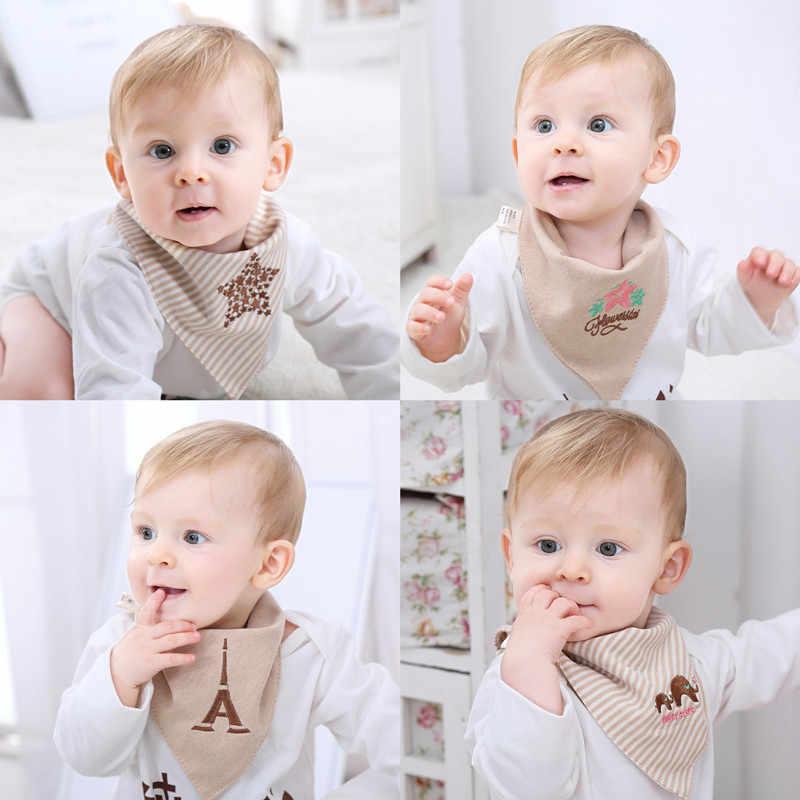 Bandana babadores de bebê para meninas bonito princesa 100% algodão puro super-elegante anti-cheiro avental anti-bacteriano toalha seca rápida