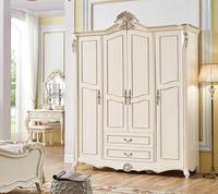 ProCARE Bedroom Furniture China Antique Solid Wood 3 /4 Doors Wardrobe /Closet