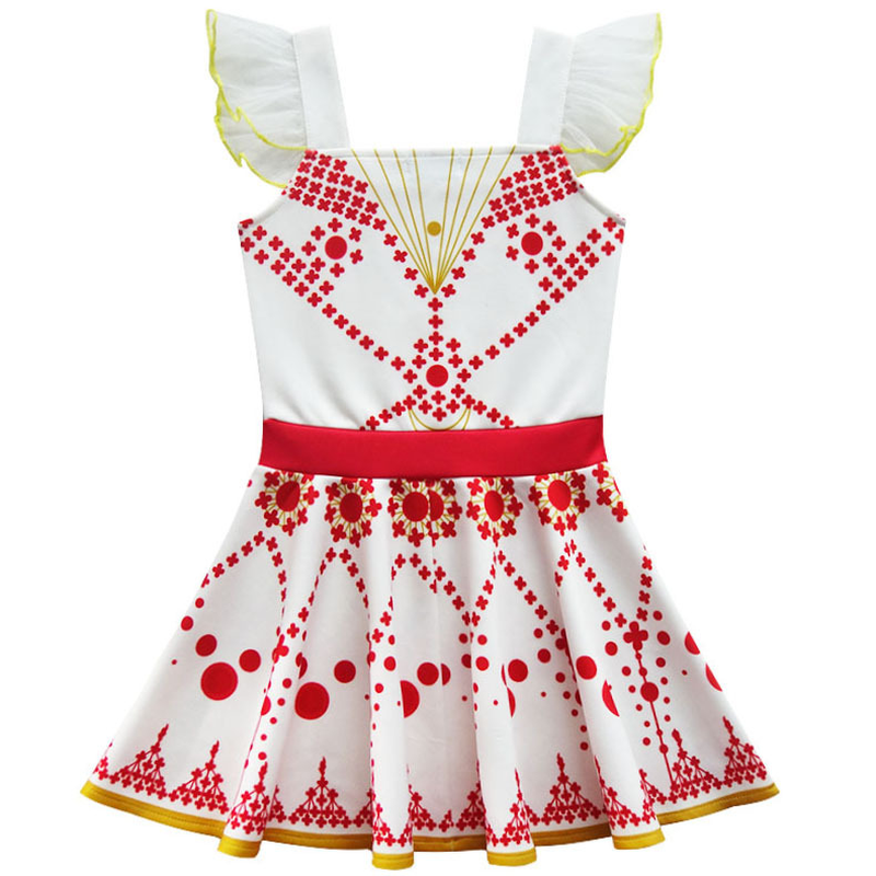 2021 New Movie Ballerina Felicie Cosplay Costume for Girls Party Clothes Halloween Costume for Kids dancing christmas dress girl 5