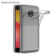 Original MODAZONGYE Soft Case For Motorola Moto E4 Case Cover Silicone Back Cove