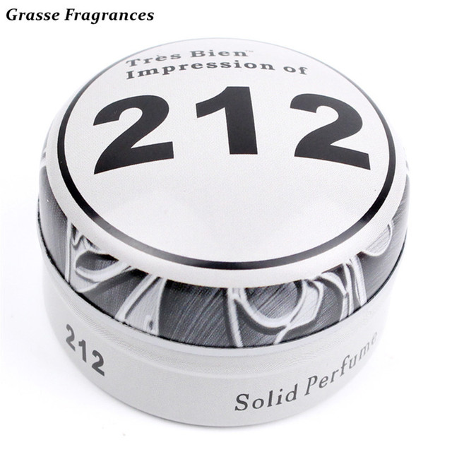 Grasse Fragrances Sexy Woody Notes Parfum Solid Blam Men Protable Solid Balminess and Fragrances Body Fragrant Balm for Men