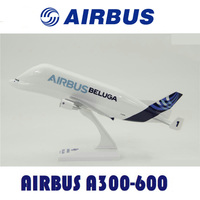 1:200 Airbus A300 600ST BELUGA airlines Transport machine with base alloy aircraft plane collectible display model collection