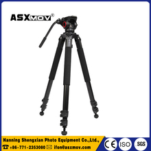 Professional portable horizontal photographic ball head dslr viseo camera tripod stand for tripod accessories