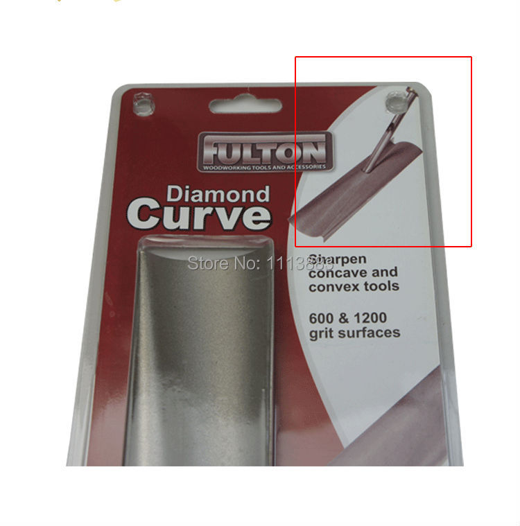 Diamond Curve Sharpening Jig for Concave and Convex Turning and Carving Tools 600 1200 Grit in Abrasive Tools from Tools