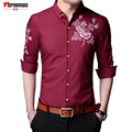 2017 Spring and Autumn New Men's Casual Long-sleeved Shirt High-quality Slim Thin Men's Business Shirt