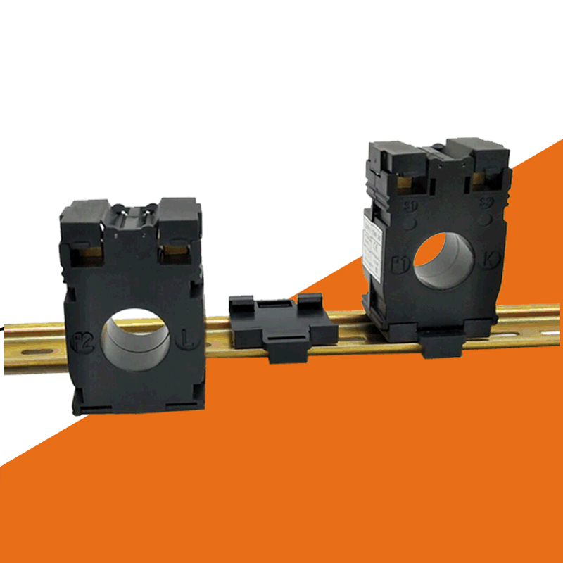 AC 50A, 75A, 100A, 150A, 200A, 250A, 300A din трансформатор тока (CT) 22 мм Диаметр din AC ampere трансформатор