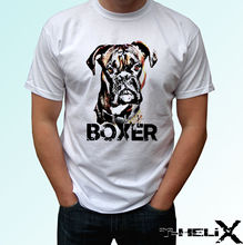 Boxer - dog t shirt top tee design mens womens kids baby sizes New T Shirts Funny Tops Tee Unisex