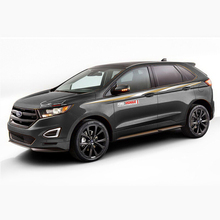 World Datong car styling sport sticker For Ford Edge Auto Body Customized Decal Exterior Accessories