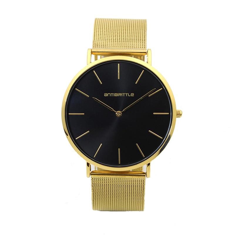 817b913bf0b Relógios de Quartzo Relógio de Ouro Marca para Mulheres Japão Quartz ...