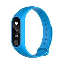 Новый фитнес трекер умный Группа Браслет Сенсорный экран Bluetooth Smart Браслет Носимых устройств для iphone телефона Android