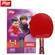 100% מקורי DHS טניס שולחן מחבט 4002 4006 4007 פינג פונג משוט טניס שולחן מחבטי indoo ספורט Raquete