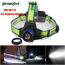 Bicycle Bike Light 5000LM Light XM-L T6 LED Headlamp Headlight Flashlight Head Light Lamp 18650 Waterproofing Zoomable Bright