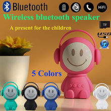 Bluetooth Speaker Portable Mini Wireless Speaker Player Music Sound Colum for smart phones, pads, laptops and desktops, MP3(China)