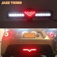 Джаз тигр многофункциональный заднего Туман лампы стоп светодио дный Резервное копирование лампы сзади бампер отражатель для Toyota GT86 Scion FR S