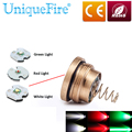 Uniquefire 1501 Flashlight New Colorful Light XRE/XPE Led Drop In 1501-XRE/XPE Pill Module Fit For 1501 Flashlight Free Ship