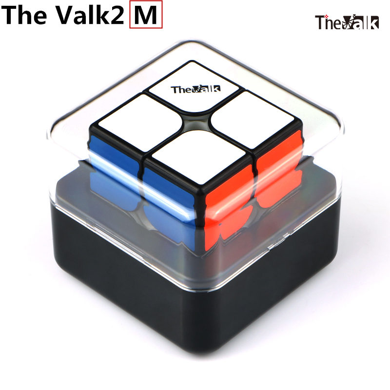 The Valk 2M 2x2x2 Speed Magnetic Magic Cubes Valk 2 Packet Cubes QIYI Mofangge WCA Competition Cubes The Valk2 M Magnet Puzzle