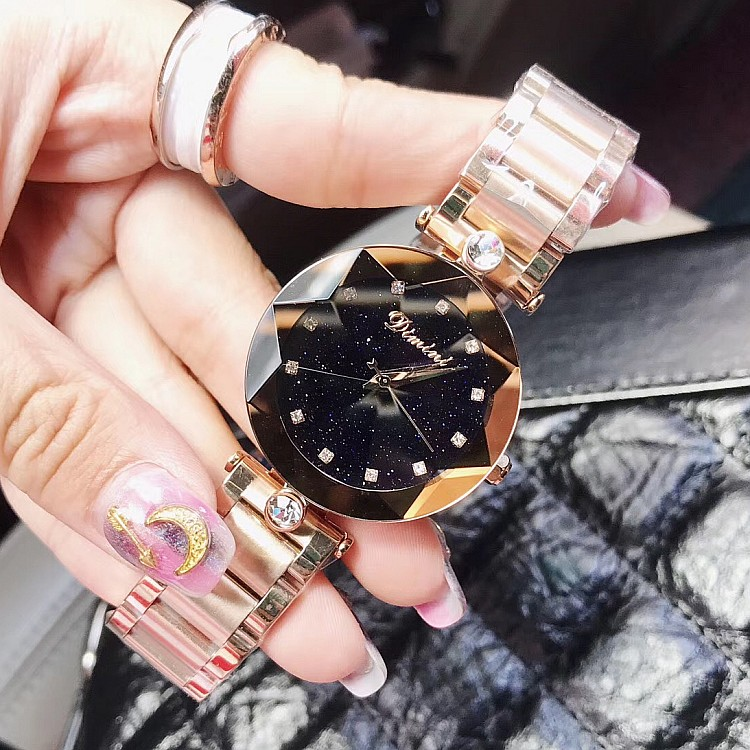 2018 одежда высшего качества Роскошные Леди Кристалл часы для женщин для мужчин платье часы. Мода розовое золото часы женский нержавеющая...