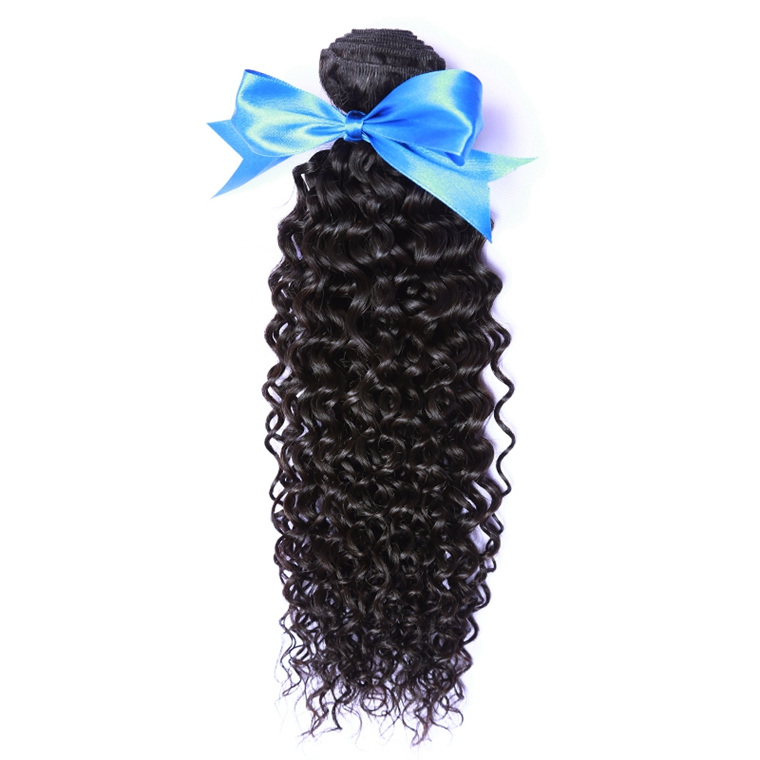 LINLIN Indian Human Hair Afro Kinky Curly Hair Weave Extension Hair Bundles Hair Rollers wigs Can Dyed & Bleach malaysian deep wave human hair extension virgin hair weave 3 bundles for black women wet and wavy human hair bundles sewin weave