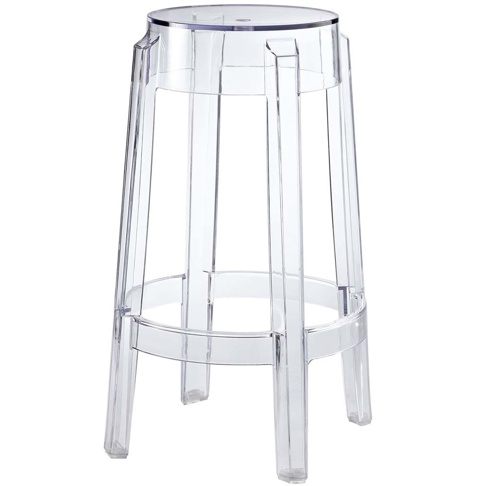 Clear Casper Counter Stool catina counter stool charcoal