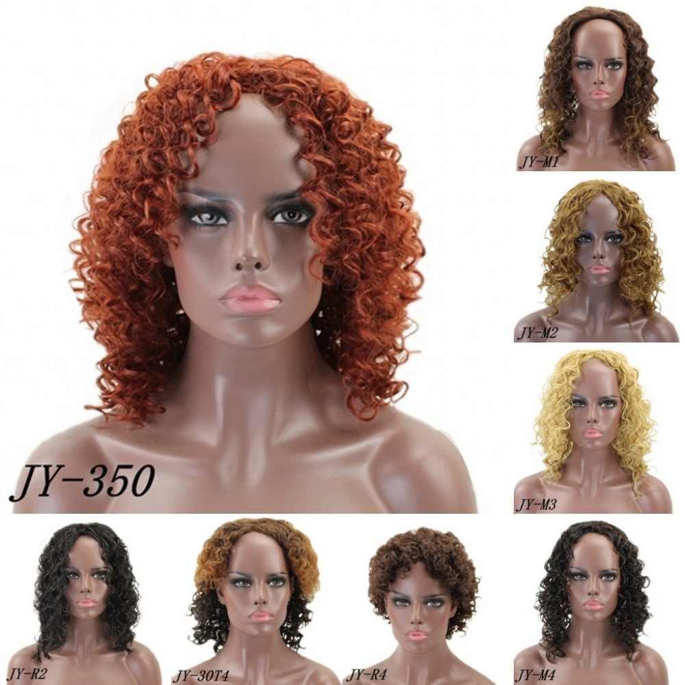 JOY & BEAUTY 16 дюймов Синтетические парики для черных женщин афро кудрявый парик 8 цветов доступны высокотемпературное волокно для женщин