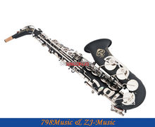 NEW Professional Eb Saxophone Matte Black Sax High F# Abalone Shell Key