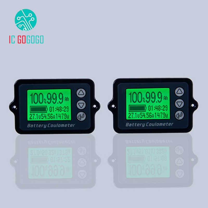 80V 50A 100A 350A TK15 Battery Tester Coulomb Counter Meter Capacity Indicator LiFePo Remain Power Detector Coulometer Precision