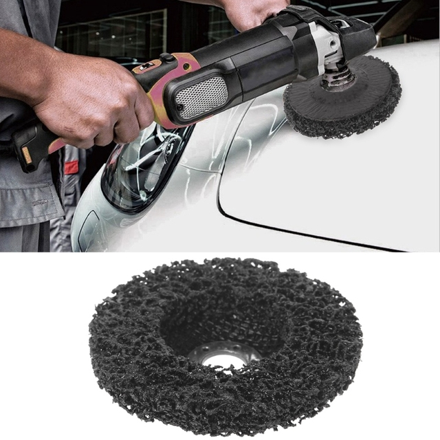 Poly Strip Disc Wheel Paint Rust Removal Clean Remove For Angle Grinder 100x16mm