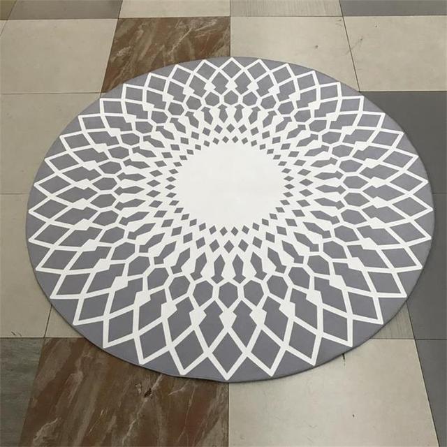 Teppich Eingang runde polyester bereich teppich hause eingang flur fußmatte computer