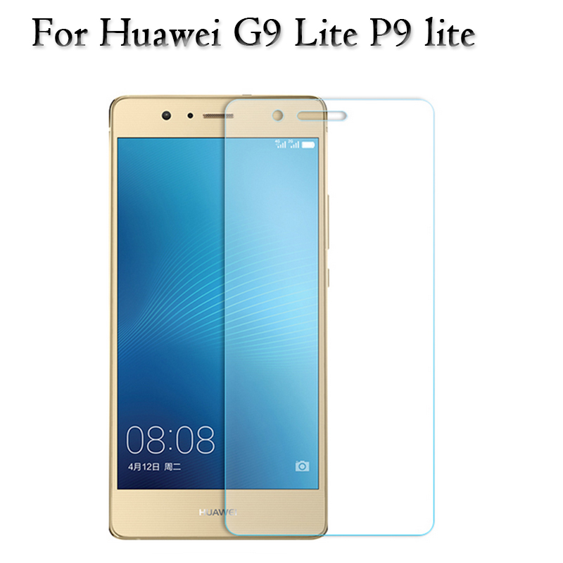 2.5D 0.26mm Tempered Glass screen protector Film 9H for Huawei G9 Lite P9 Lite VNS-L21 Dual Sim Glass