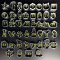 Бесплатная доставка Милый мультфильм apple Форма Cookie Каркас Торт Прессформы Алюминиевого Сплава DIY Приготовления Пищи Металла Резак 44 конструкции