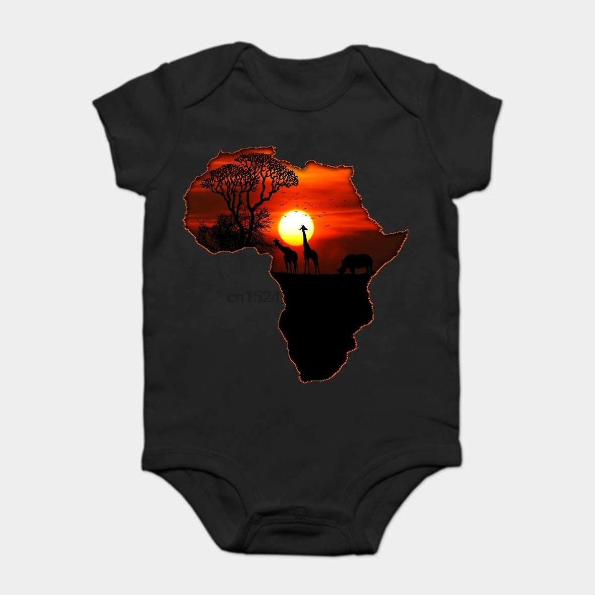 Kid Map Of Africa.Baby Onesie Baby Bodysuits Kid T Shirt Funny Novelty Africa Map Of