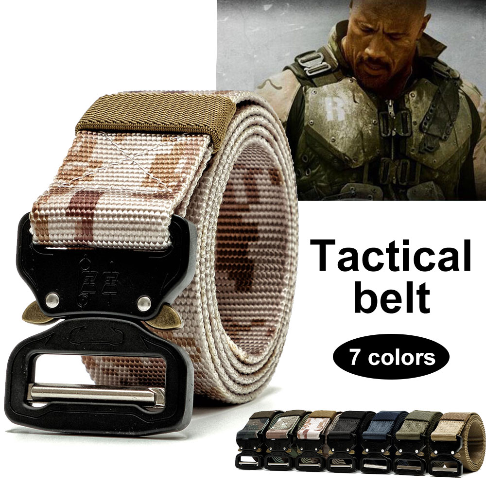 Waist Straps Safety Combat Nylon Webbing Training Belt Men Women Military Equipment Tactical Belt Durability 7 Color цена 2017