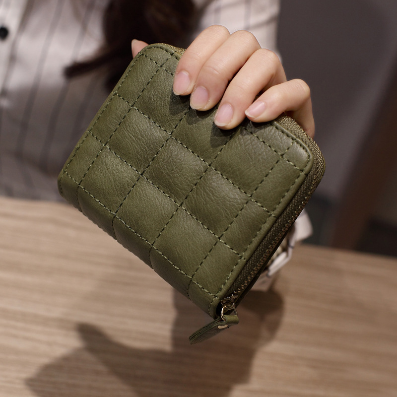 HOT New 2018 Fashion Women's Purse Card Holder Women Small Wallet Zipper Clutch Coin Purse Female Bag Portefeuille Femme(China)