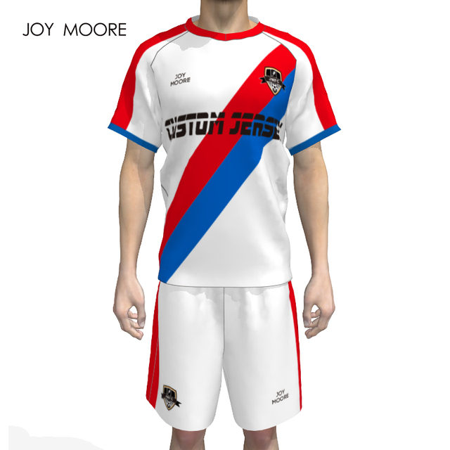 c7b3ca40625 men s sublimation custom soccer jersey set design your own football shirt  online full set soccer uniforms