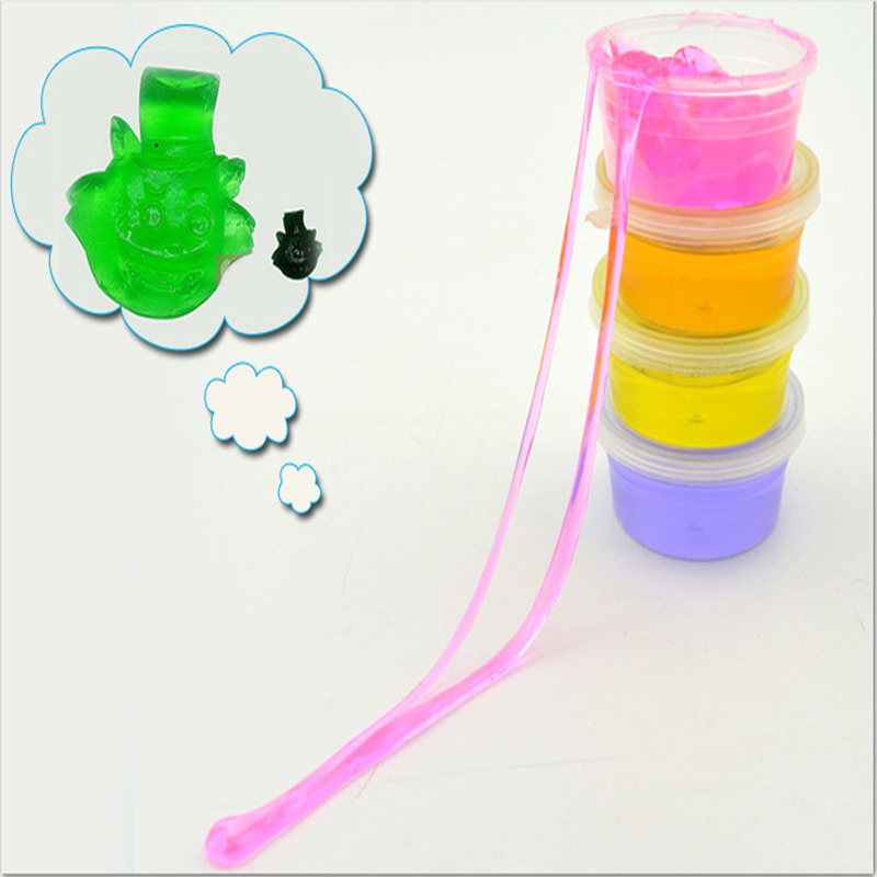 Fine Non-toxic Blowing Bubbles Crystal Mud Super Light Clay Draw Slime Funny Toys Hand-pulled Noodle Crystal Playdough Mud Toys Gags & Practical Jokes Novelty & Gag Toys