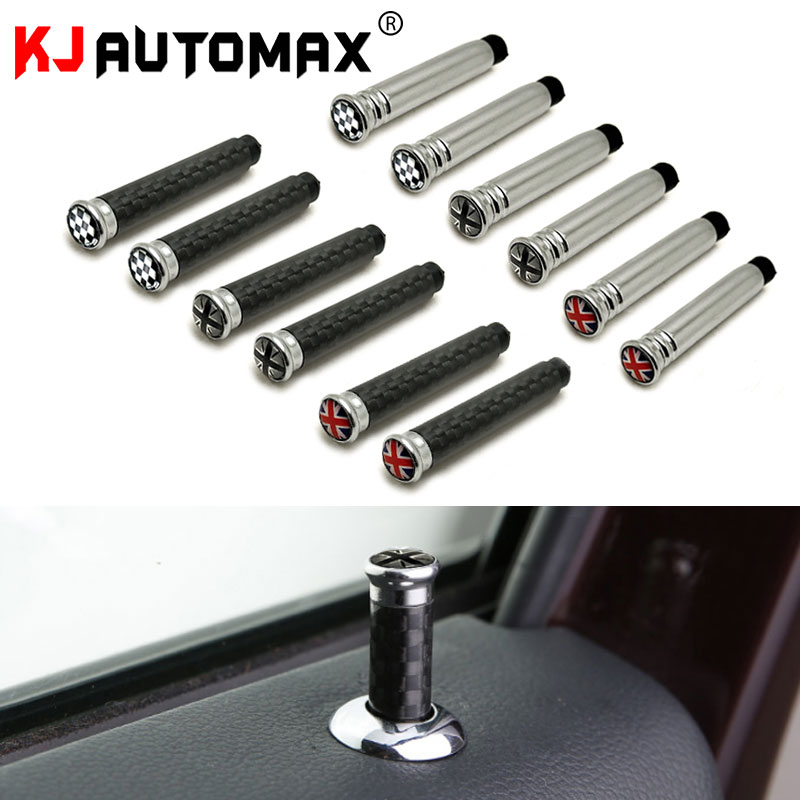 KJAUTOMAX Interior Door Pin Lock Knock For Mini Cooper R55 R56 R60 R61 F55 F56 F60 Car Styling  Accessories