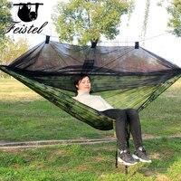 Barraca de camping parachute nylon tecido hammock pendurado Rede Cadeira|Redes| |  -