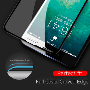 Image 3 - Vothoon Screen Protector Glass For iphone Xs Max XR 8 7 6s Plus 10D Full Cover edge Tempered Glass Protective