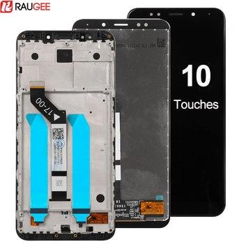 Đối với Xiaomi Redmi 5 Cộng Với LCD Hiển Thị + Màn Hình Cảm Ứng với Khung Digitizer Thay Thế Lắp Ráp Cho Redmi 5 Cộng Với LCD 5.99 inch + Công Cụ