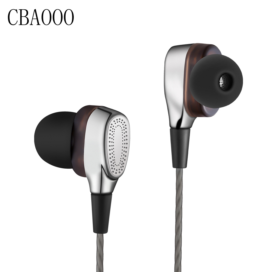 Double drive earphon DIY mobile phone headset HiFi subwoofer stereo waterproof In-ear earphone with mic for xiaomi iPhone ufo pro metal in ear earphones treadmill female drug sing karaoke audio headset diy mobile phone
