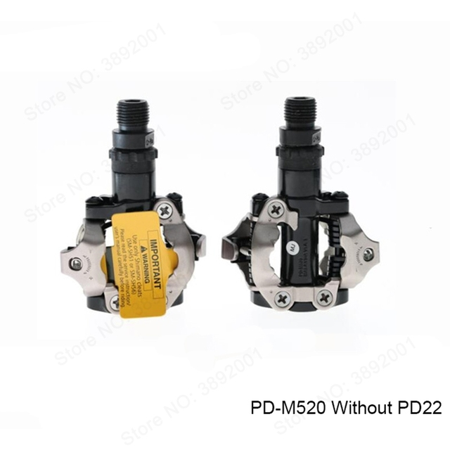 shimano PD M520 Clipless SPD Pedals MTB Bicycle Racing Mountain Bike Parts PD-M520