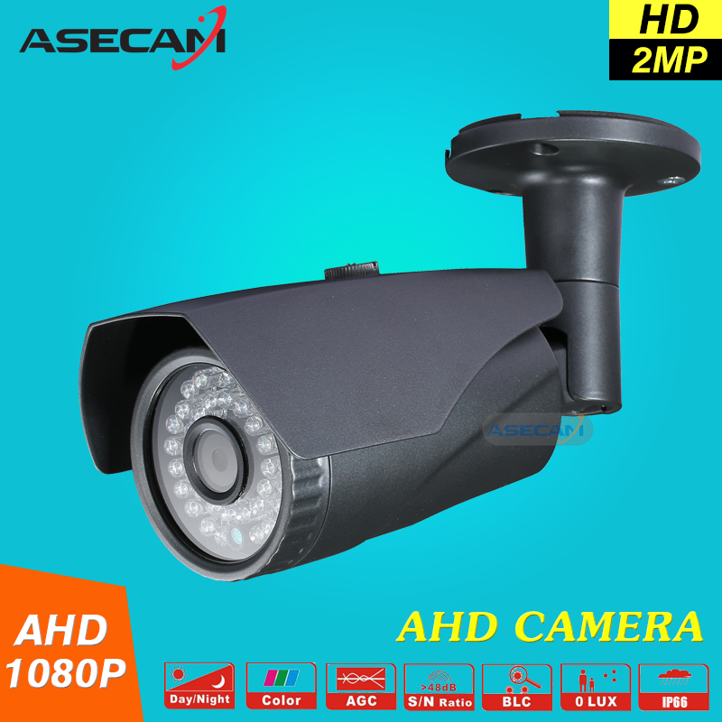 New 2MP 1080P AHD Camera Security CCTV Metal Gray Bullet Video Surveillance indoor Outdoor Waterproof 36 infrared Night Vision new cctv ahd hd 960p surveillance waterproof outdoor metal bullet security camera infrared night vision 50meter