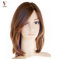 Jewish Wig Full Lace Front Human Hair Wigs European Virgin Hair Pre Plucked With Baby Hair Pre Colored Venvee